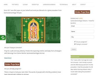 Thumbshot of Garbarakshambigai.org