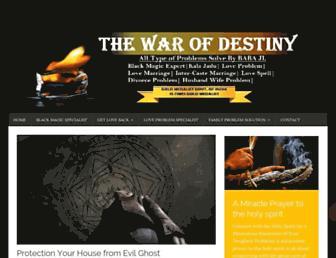 thewarofdestiny.com screenshot