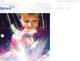 spicers.ca screenshot