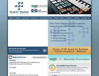 flexiteam.com.my screenshot