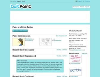 Thumbshot of Twitpaint.com
