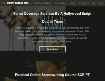 scriptreaderpro.com screenshot