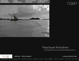 Thumbshot of Comohotels.com