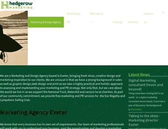 hedgerowmarketing.co.uk screenshot