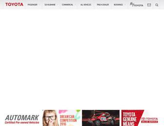 Thumbshot of Toyota.co.za