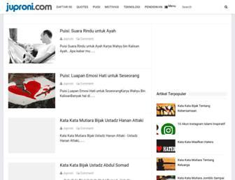 juproni.com screenshot