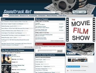 soundtrack.net screenshot