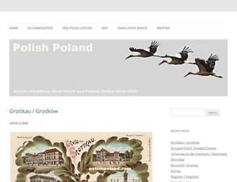 polishpoland.com screenshot