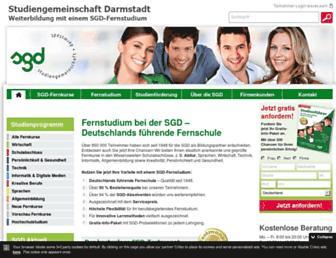 sgd.de screenshot