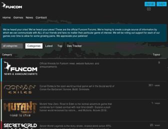 forums.funcom.com screenshot