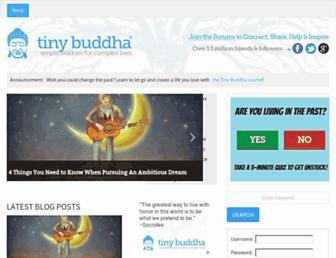 Thumbshot of Tinybuddha.com