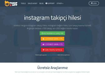 takipapp.com screenshot