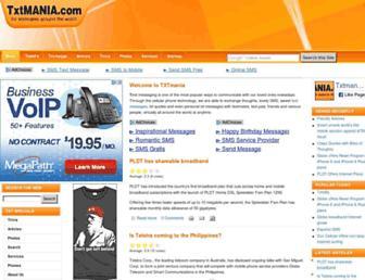 txtmania.com screenshot