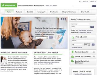 Thumbshot of Deltadental.com