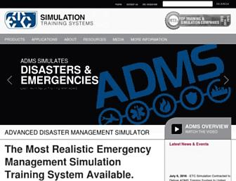 trainingfordisastermanagement.com screenshot