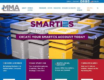 mmaglobal.com screenshot