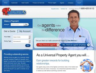 universalproperty.com screenshot