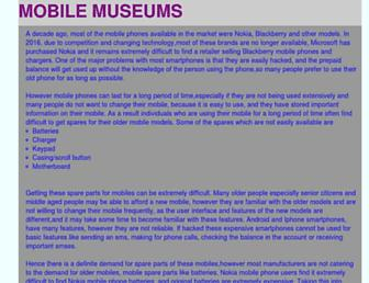 Thumbshot of Mobilemuseums.org