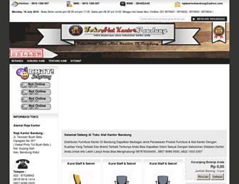 tokoalatkantorbandung.com screenshot