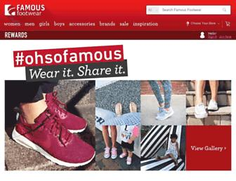 Thumbshot of Famousfootwear.com
