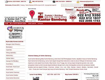 kantorbandung.com screenshot