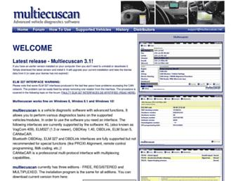 multiecuscan.net screenshot