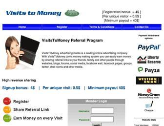 Thumbshot of Visitstomoney.com
