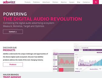 Thumbshot of Adswizz.com