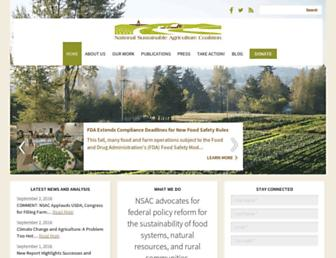sustainableagriculture.net screenshot