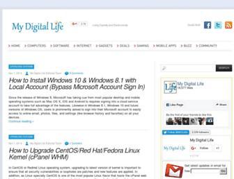 mydigitallife.info screenshot