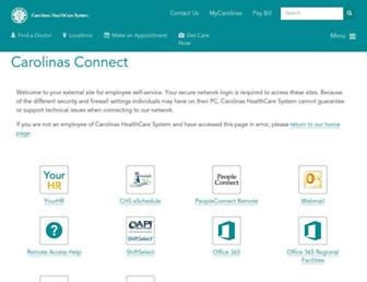 Thumbshot of Carolinasconnect.com