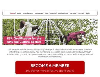 sponsorship.org screenshot