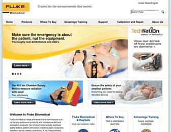 flukebiomedical.com screenshot