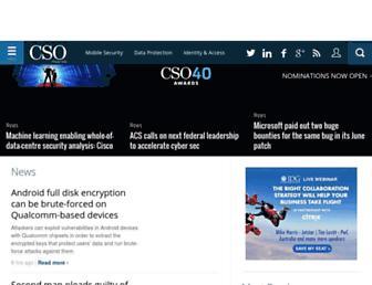 cso.com.au screenshot