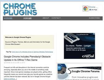 Thumbshot of Chromeplugins.org