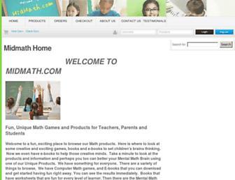 midmath.com screenshot