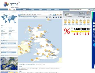 weather2umbrella.com screenshot