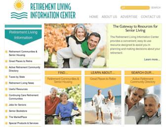 retirementliving.com screenshot
