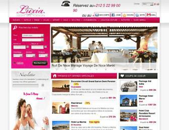 luxiabooking.com screenshot