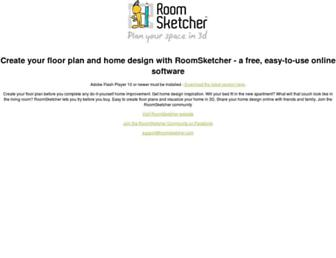 planner.roomsketcher.com screenshot