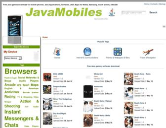 nokia-110-112-113.java-mobiles.com screenshot
