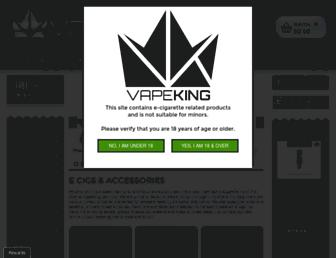 Thumbshot of Vapeking.com.au