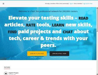 utest.com screenshot