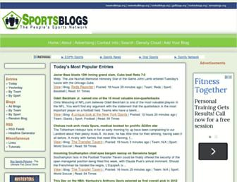Thumbshot of Sportsblogs.org