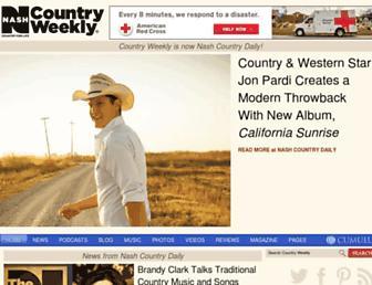 Thumbshot of Countryweekly.com