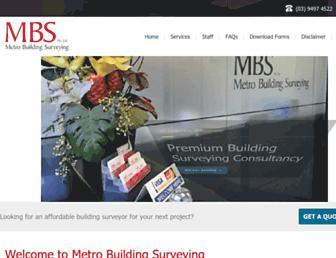 metrobs.com.au screenshot