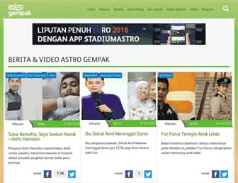 Main page screenshot of murai.com.my
