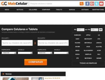 maiscelular.com.br screenshot