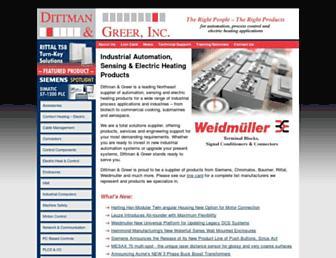dittman-greer.com screenshot
