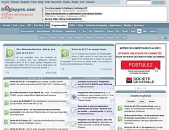 qt.developpez.com screenshot